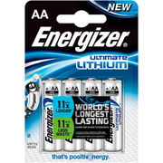 Energizer Ultimate Lithium AA-paristo 4 kpl